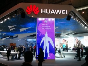 Huawei spends millions at big telecoms show