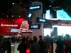 Lenovo attends Mobile World Congress